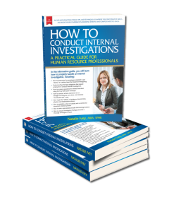 Book on HR Investigations Training